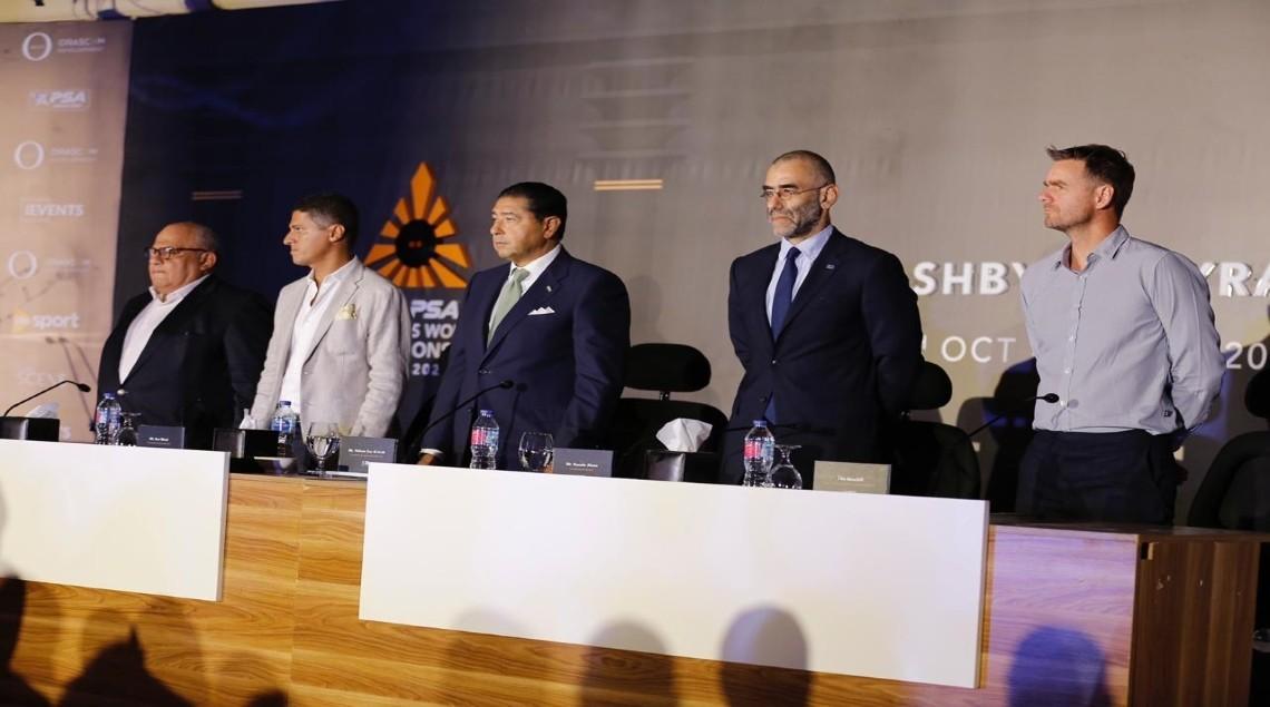 العالم للإسكواش فى مصر 2020 - أهرامات الجيزة تستضيف بطولات العالم للإسكواش سيدات ورجال