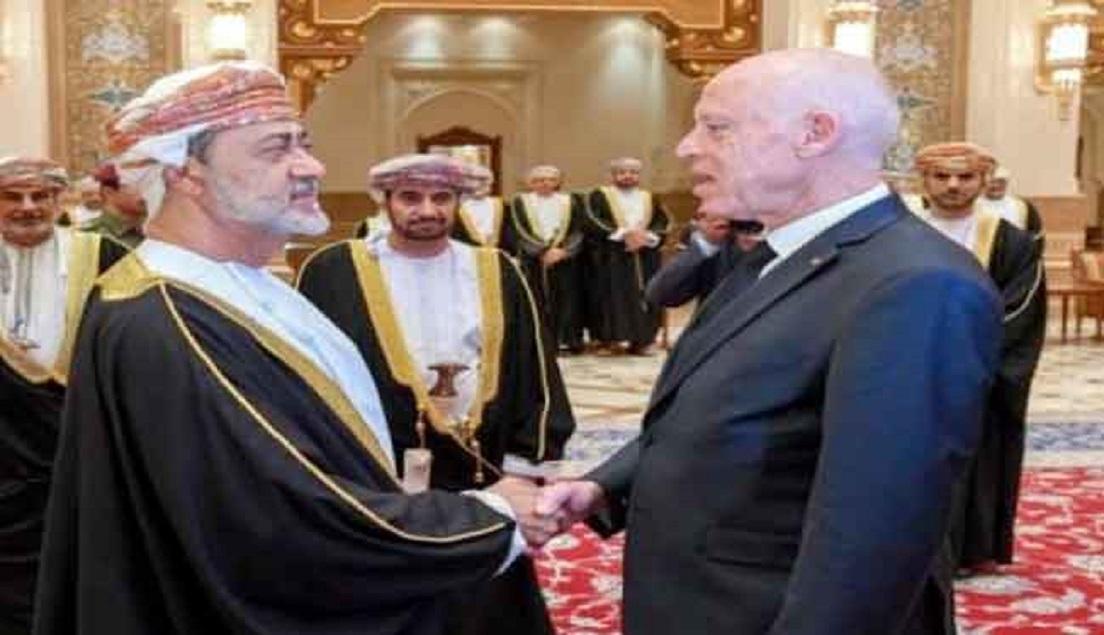 19 2020 637144366177176301 717 - الرئيس التونسي يصل إلى عمان للتعزية في وفاة السلطان قابوس