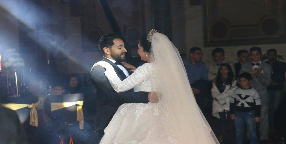 IMG 0082 1 1140x575 - بحضور النائب صلاح حسب الله..سعد الصغير يشعل حفل زفاف مهند طارق على أميرة محمد عطية