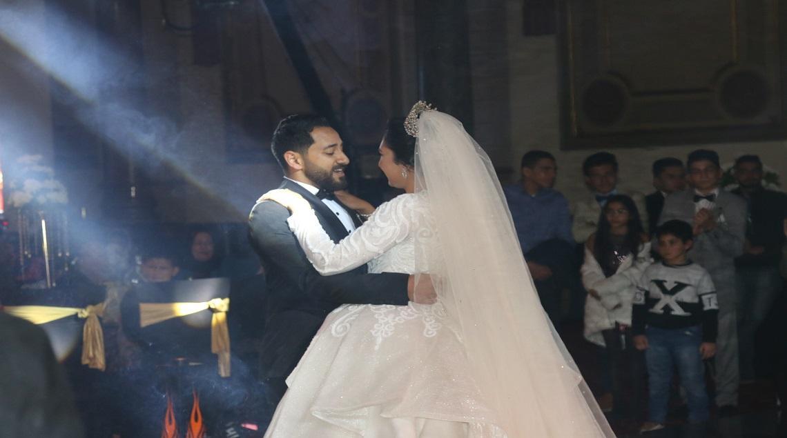 IMG 0082 1 - بحضور النائب صلاح حسب الله..سعد الصغير يشعل حفل زفاف مهند طارق على أميرة محمد عطية