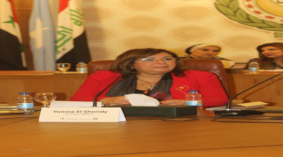 IMG 0372 - يمني الشريدي: جميعة سيدات أعمال مصر21 لديها خريطة عمل كاملة لتمكين المرآة.. والتحول الرقمي على رأس أولوياتنا