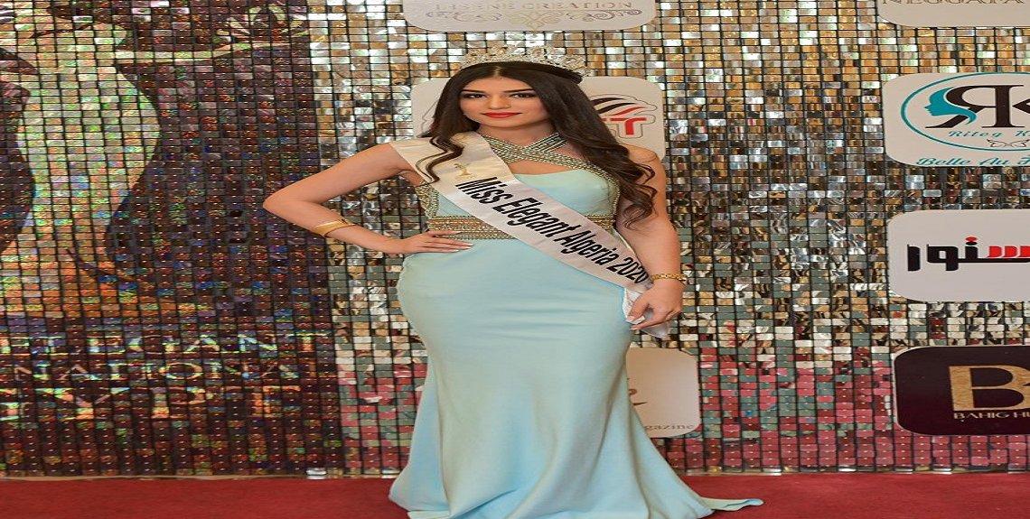 2 1140x575 - وفاء عريبي تفوز بمسابقة ملكهً الأناقة الجزائرية لعام 2020
