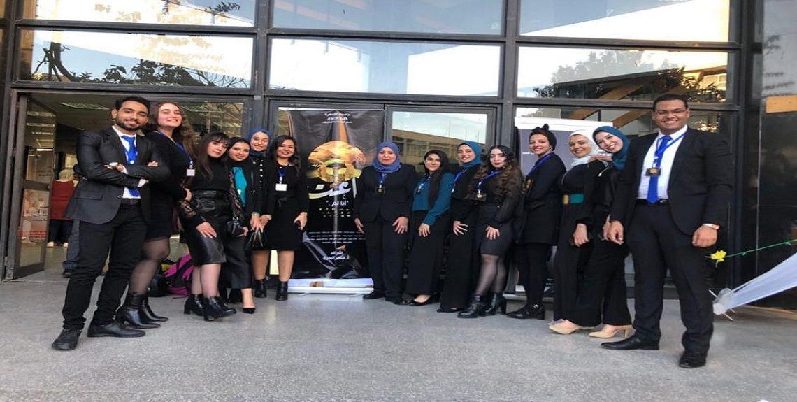 """983198f7 7cf5 4939 9040 105078f89dd7 1140x575 - طلبة إعلام القاهرة يقدمون مشروعهم بعنوان """"ماعت"""" يناقش خطط التنمية ويعيدها لأصولها الفرعونية"""