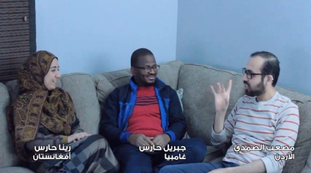 """100772280 2691116361172180 4078743335055917056 n 1024x570 - بالفيديو.. مجموعة من الشباب العربي يطلقون أغنية """"سلامي"""" لدعم الصم وضعاف السمع"""