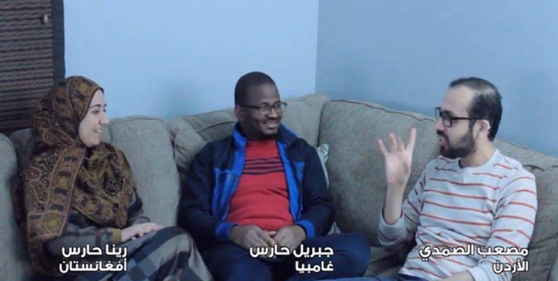 """100772280 2691116361172180 4078743335055917056 n 1140x575 - بالفيديو.. مجموعة من الشباب العربي يطلقون أغنية """"سلامي"""" لدعم الصم وضعاف السمع"""