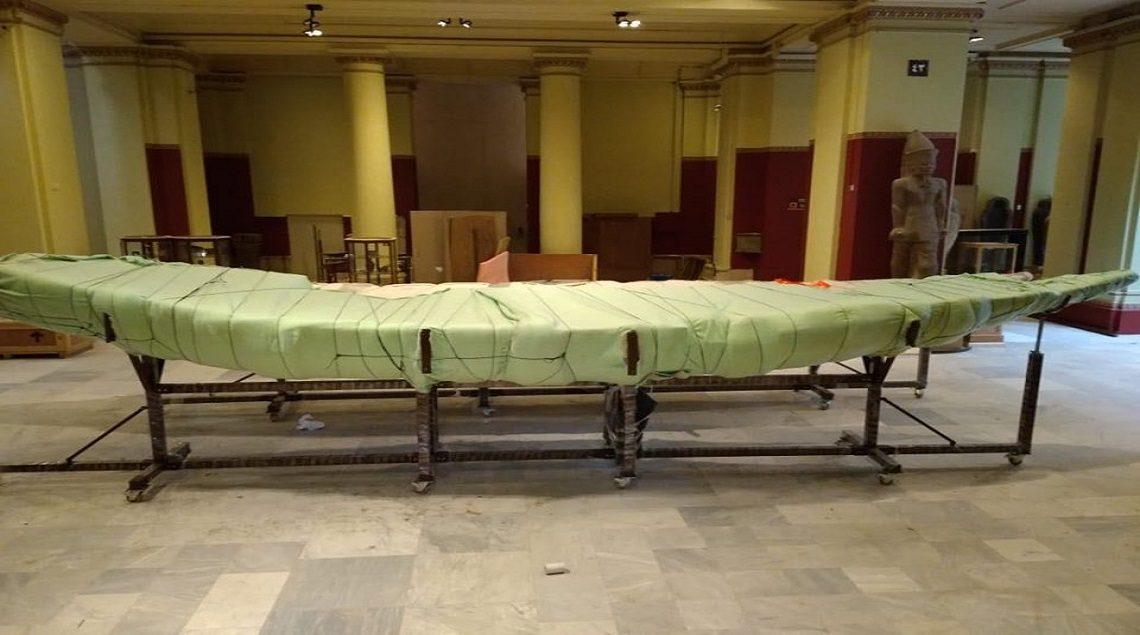 101390013 430820701134665 4341469280575946752 n 1140x635 - متحف شرم الشيخ يستقبل ثلاثة قطع أثرية كبيرة جديدة من المتحف التحرير