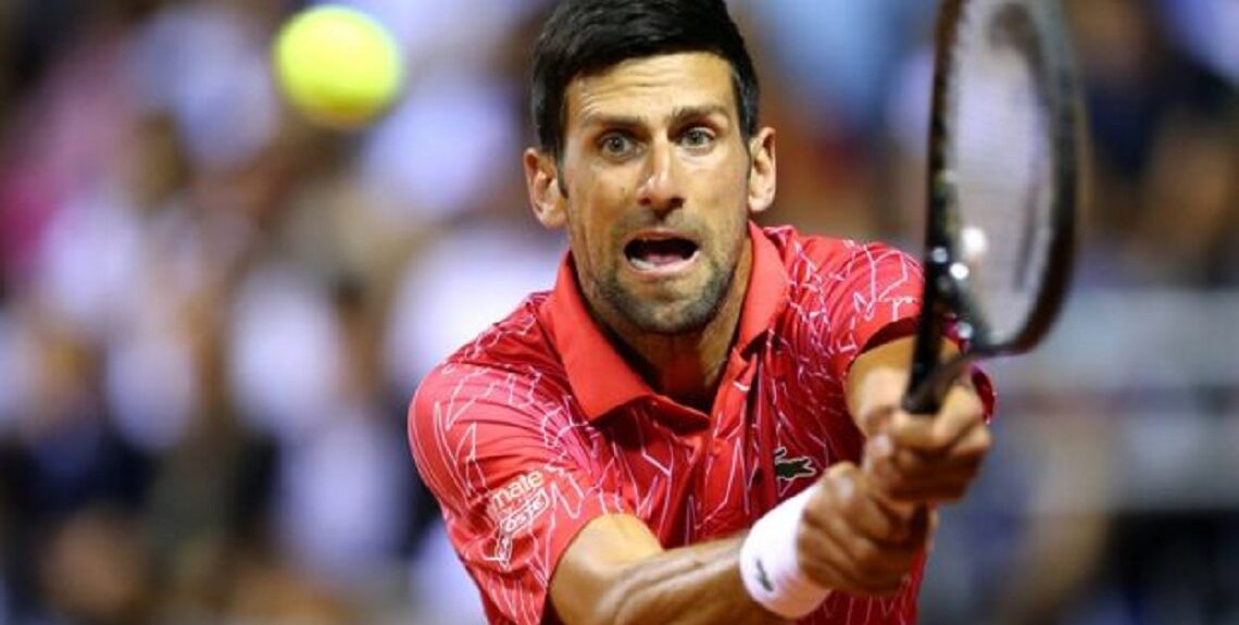"113048092 0530385a 22a7 48f6 860c cd4e62edb182 1140x575 - إصابة لاعب التنس المصنف الأول عالميا ""نوفاك ديوكوفيتش"" بفيروس كورونا"