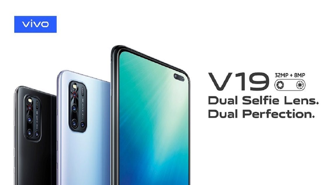"""Vivo V19 Dual Selfie Lens 1140x635 - Vivo تطلق أحدث إصداراتها: V19 الذي جمع بين التكنولوجيا والأناقة والتصميم الرائع مع ميزات ريادية في """"تصوير السيلفي"""""""