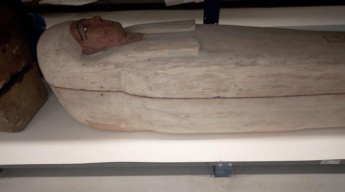 77ceaa2d 1b56 49a3 a0de beaad4b6c3b7 1140x635 - متحف الحضارة يستقبل ١٧ تابوتا ملكيا لترميمها وتجهيزها للعرض استعدادا لاستقبال المومياوات الملكية