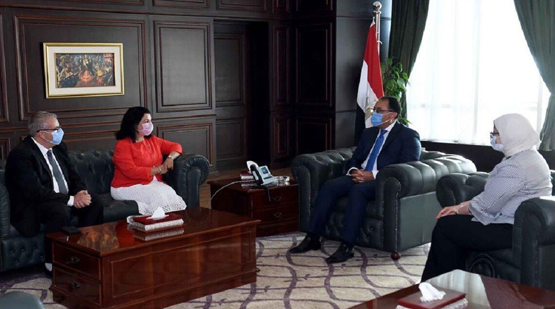 "117112700 1679599468885078 2111951802239223304 o 1140x635 - رئيس الوزراء يشكر ""جون جبور"" ممثل منظمة الصحة العالمية فى القاهرة بعد انتهاء فترته .. ويتمنى التوفيق لـ""نعيمة القصير"""