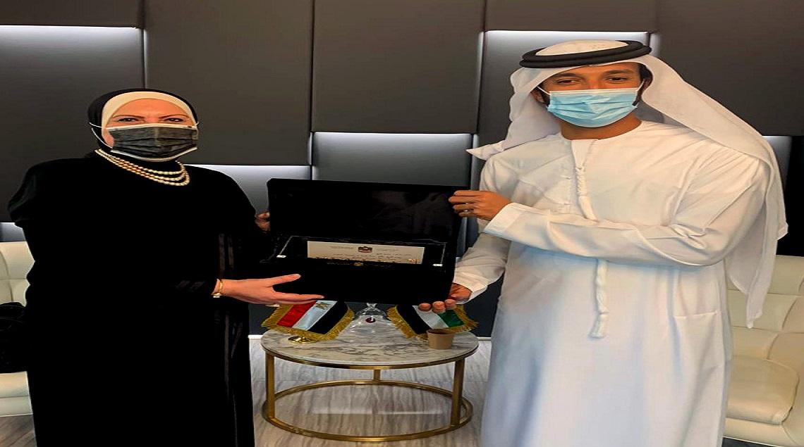 125428750 1782045081973849 7039679383073215757 o - وزيرة التجارة والصناعة تبحث مع وزراء الاقتصاد وريادة الأعمال والتجارة الخارجية الإماراتيين سبل تعزيز التعاون الاقتصادى المشترك