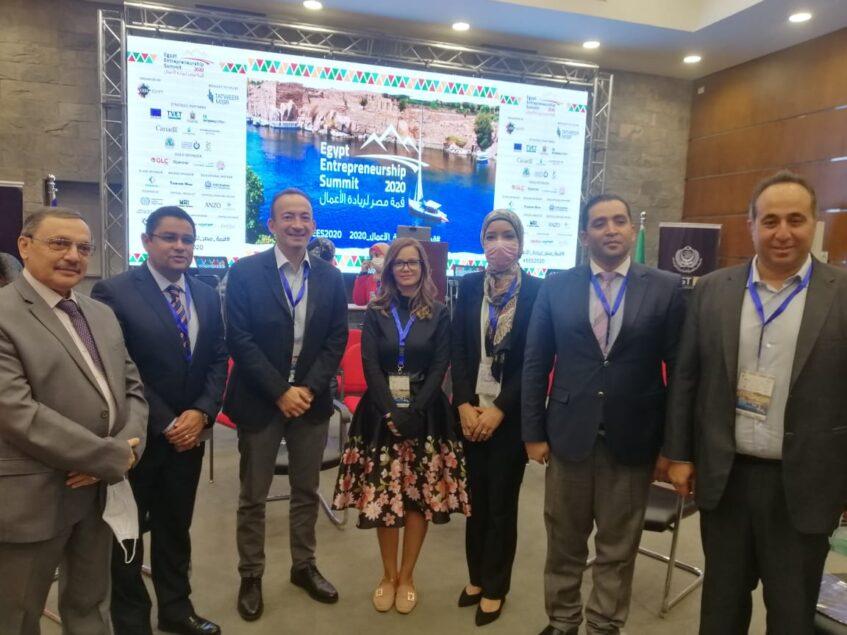 Yasmina Fahmy Centre EES 847x635 - ثروة كابيتال تشارك في قمة مصر لريادة الأعمال بأسوان