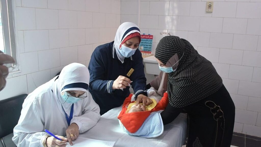 155498989 3970611892998929 5774591008319245436 o 1024x576 - وزيرة الصحة تطلق الحملة القومية للتطعيم ضد شلل الأطفال.. وتؤكد نجاح مصر في الحصول على 38.2 مليون جرعة