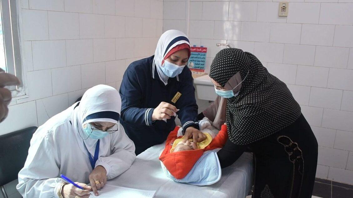 155498989 3970611892998929 5774591008319245436 o 1129x635 - وزيرة الصحة تطلق الحملة القومية للتطعيم ضد شلل الأطفال.. وتؤكد نجاح مصر في الحصول على 38.2 مليون جرعة