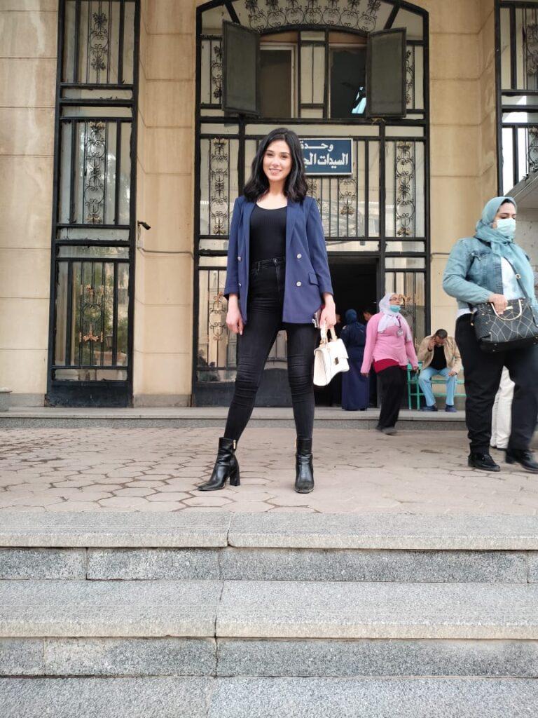 """d17d5090 b921 4e55 92aa 214f91fb53f9 768x1024 - ملكة جمال مصر لعام 2020 تشارك في فعاليات مبادرة """" عود لدعم المرأة المصرية"""""""