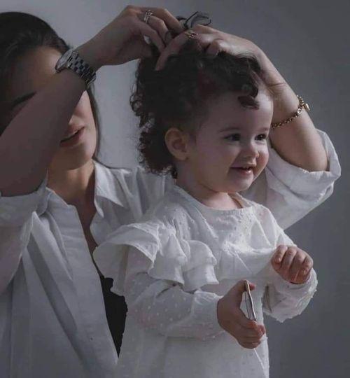 """175665872 161350449233508 6526270981761268634 n 1 - """"مجلة عود"""" تقدم نصائح للحفاظ على شعر الأطفال"""