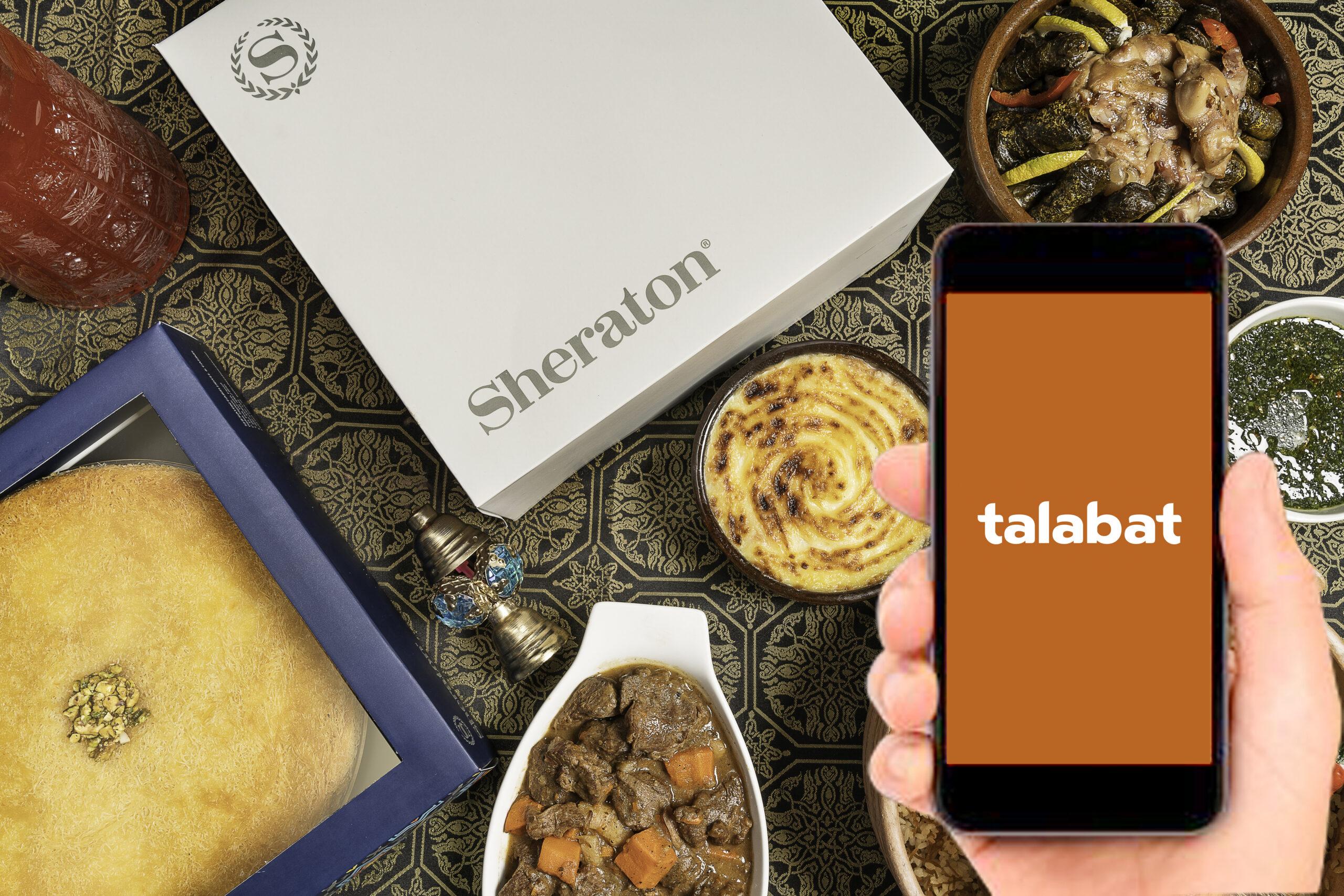 SHC Talabat 1 scaled - فندق وكازينو شيراتون القاهرة يقدم خدمة توصيل الطلبات للمنازل عن طريق تطبيق طلبات