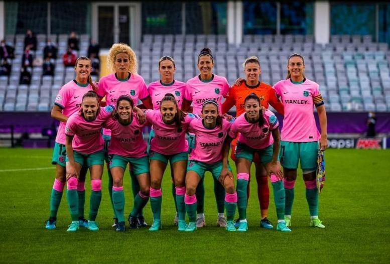 برشلونة - سيدات برشلونة بطلات دوري أبطال أوروبا