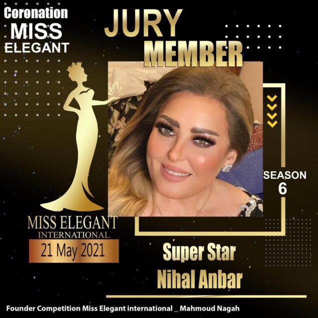 جماال الاناقة 2 635x635 - 21 مايو حفل الموسم السادس من Miss Elegant بدون جمهور