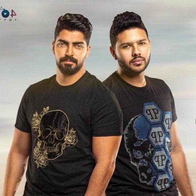 """عطا ومحمد شاهين 635x635 - مينا عطا ومحمد شاهين يطرحان """"اتنين وحوش"""""""