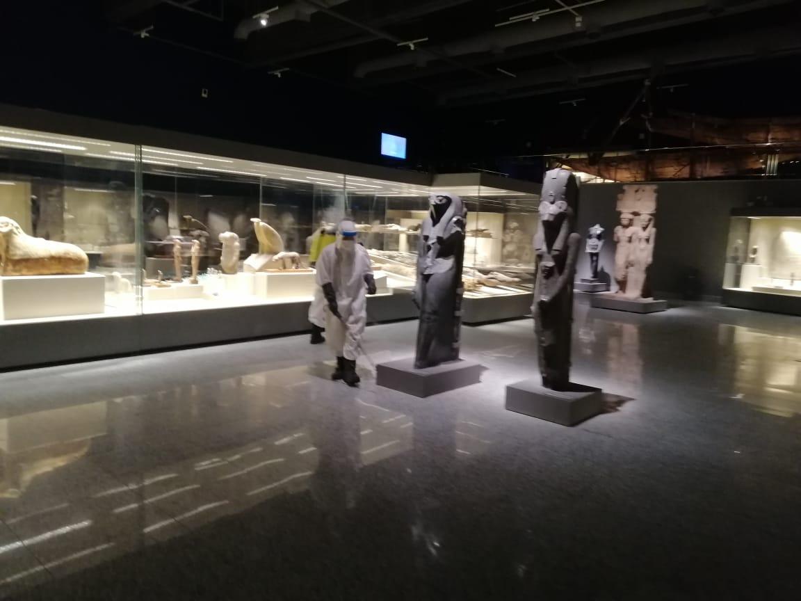 2021 637563336236457261 645 - السياحية والآثار تنتهي من أعمال التعقيم الدورية لمتحف شرم الشيخ