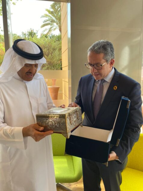 bc075131 49ef 4967 8e6c 986104e623ec 475x635 - سلمان آل سعود يشيد بالمشروعات القومية المصرية.. ويعرب عن تقديره بتعيينه بمجلس أمناء هيئة المتحف الكبير