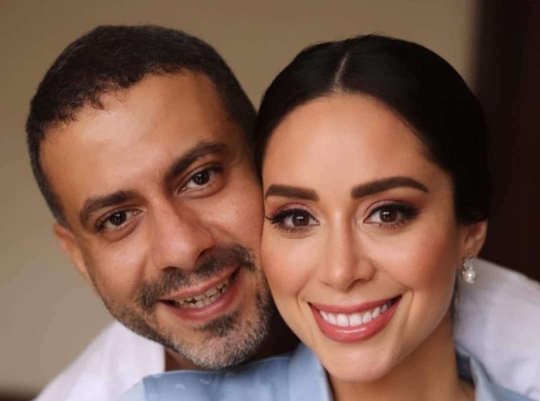 فراج وبسنت - الليلة.. عقد قران محمد فراج وبسنت شوقي