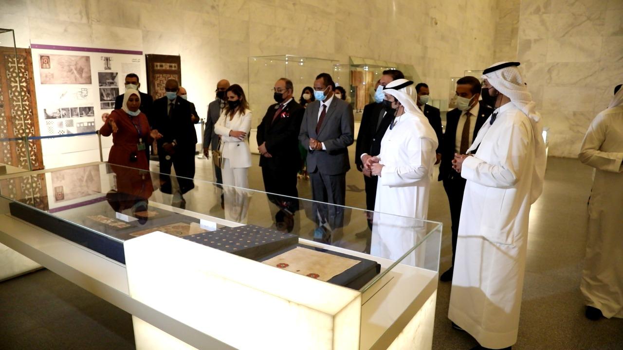 57267D69 02F0 47B7 A3A7 5791B02A1AAA - متحف القومي للحضارة يستقبل وزاء إعلام العرب