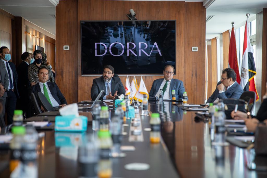 B680DCF1 22D2 4CF7 A9EE 97CCE374A43C - مجموعة شركات درة توقع بروتوكول تعاون مع الجمعية المصرية للتسويق العقاري