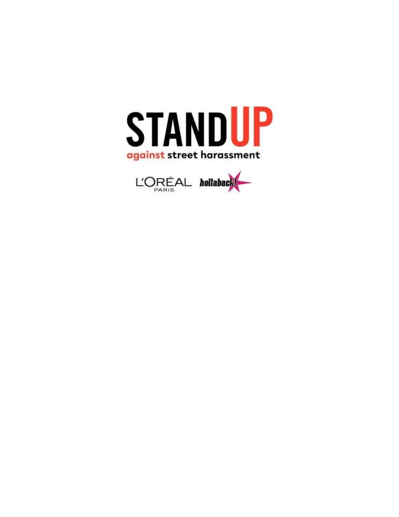 dcbfb8e5 9402 4878 baa0 e4596b3995d3 791x1024 - لوريال باريس تبدأ برنامج Stand Up في مصر لرفع الوعي على ظاهرة التحرش بالأماكن العامة من خلال تدريب متخصص على طرق مكافحته