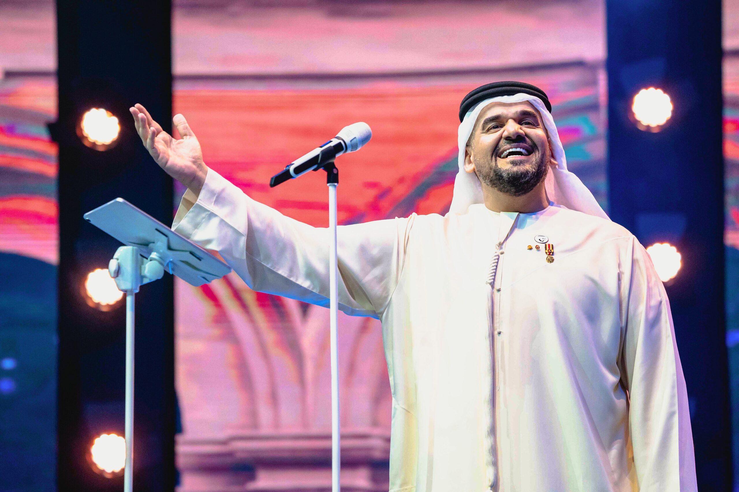 724C529A 59B4 4FC3 9E16 66DA38277C74 scaled - حسين الجسمي يحتفل مع جمهور أبوظبي بعيد الأضحي
