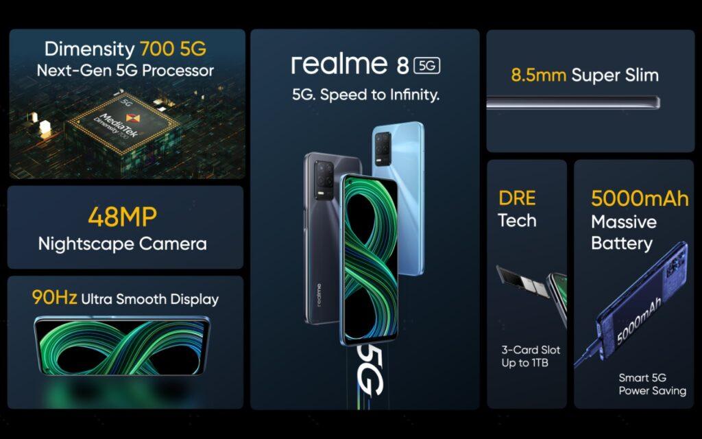 72138D2F 39F9 408A B8B1 51CBE45AD119 1024x640 - ريلمي تُطلق realme 8 5G، أولى هواتفها الذكية بتكنولوجيا اتصالات الجيل الخامس 5G في مصر