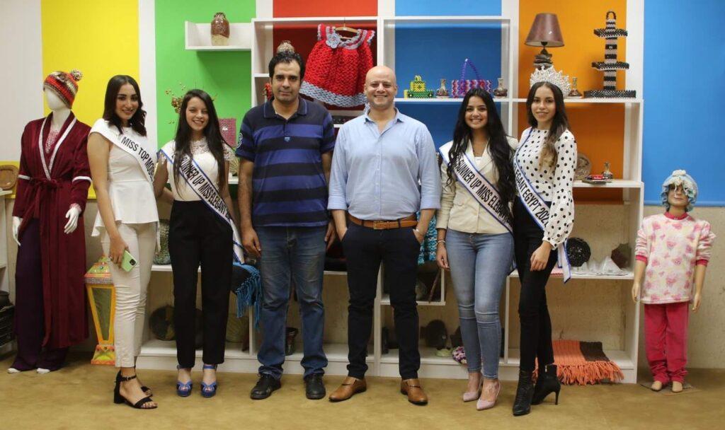 IMG 20210828 WA0000 1024x608 - مسابقة Miss elegant في زيارة خاصة لمؤسسة أطفال بلا مأوى