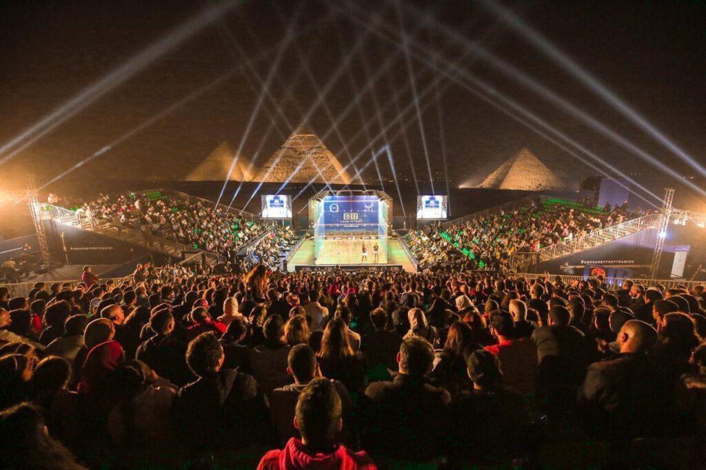 fc8b860e 90e6 401a b44d 19b8b77dccf2 1024x683 - بطولة سي أي بيCIB مصر الدولية المفتوحة للاسكواش 2021 تعلن عن أعلى جائزة بلاتينية على الاطلاق