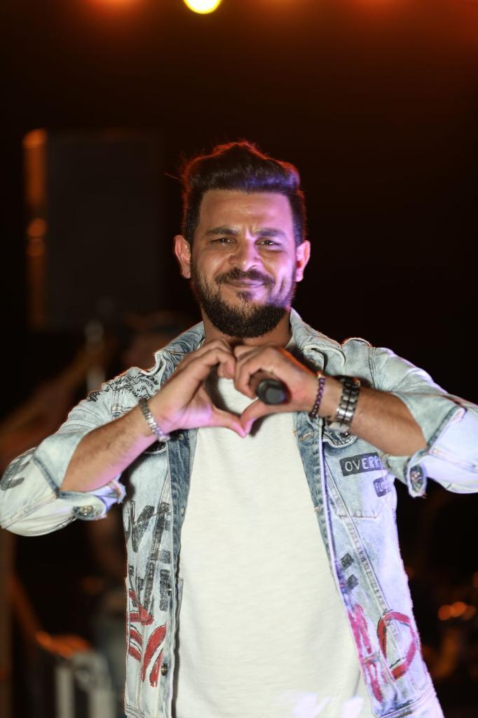 IMG 20211008 WA0146 - بالصور... محمد رشاد يشعل حفل بلو بلو بالعين السخنة