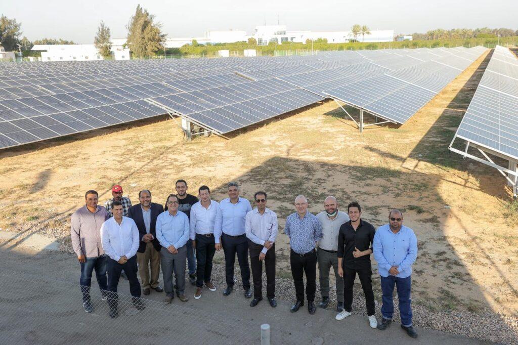 "IMG 20211018 WA0054 1024x682 - الرئيس التنفيذي لـشركه ""المراعي"" يفتتح محطة الطاقة الشمسية الجديدة لشركة ""بيتي"" على مساحة 20 فدان"