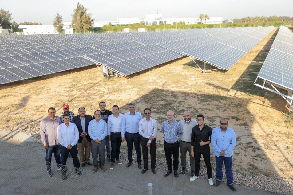 "IMG 20211018 WA0054 953x635 - الرئيس التنفيذي لـشركه ""المراعي"" يفتتح محطة الطاقة الشمسية الجديدة لشركة ""بيتي"" على مساحة 20 فدان"